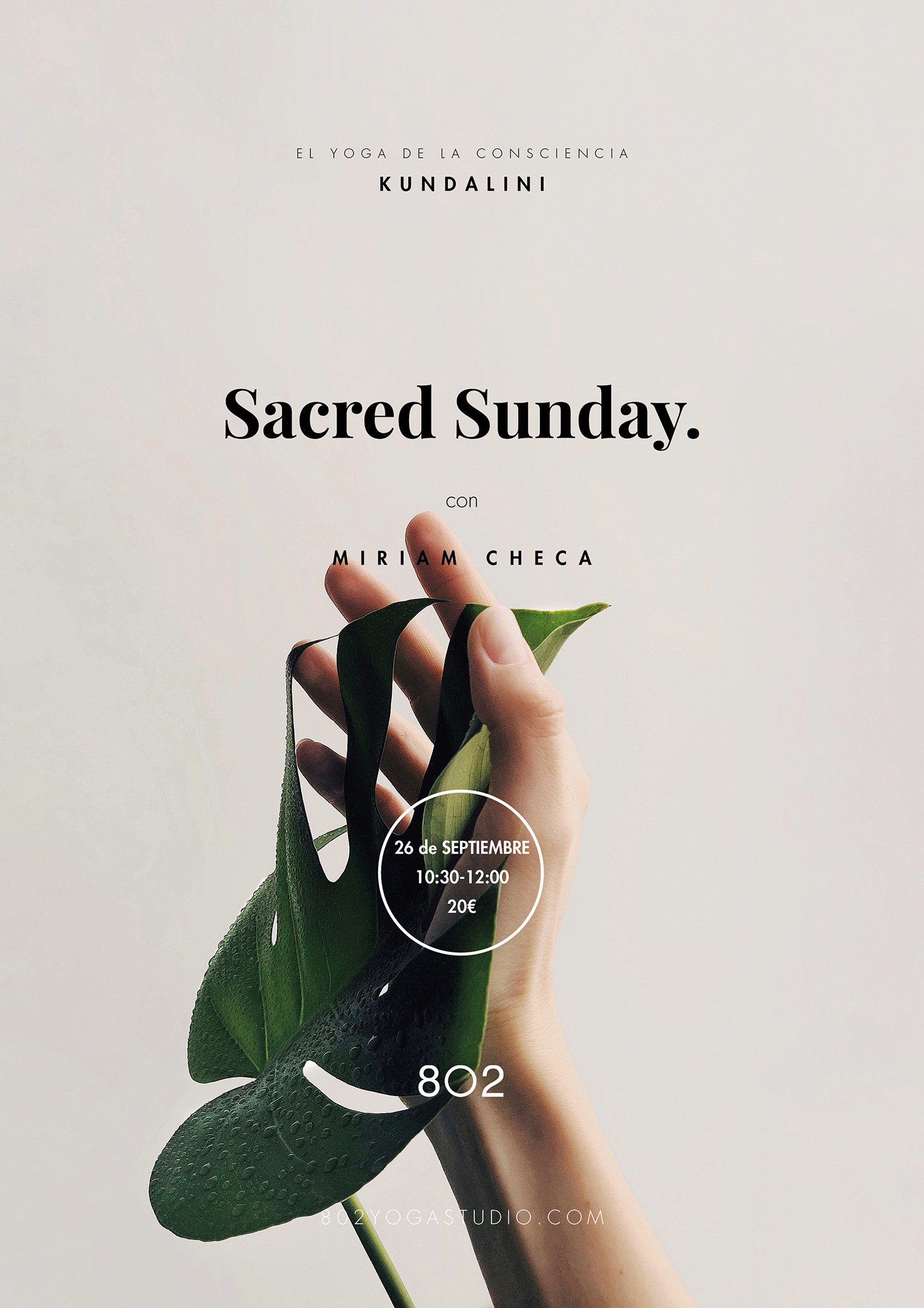 Sacred sunday 802 yoga studio